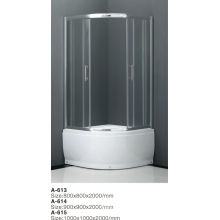 2014 3 panel sliding shower door with high quality