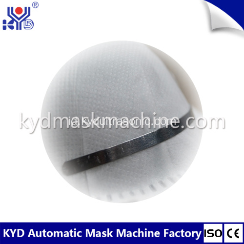 Cup Mask Nose-wire Head-sealing Machine