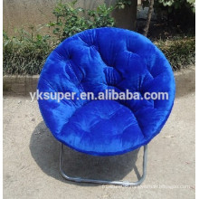 Low round folding camping chair wholesale
