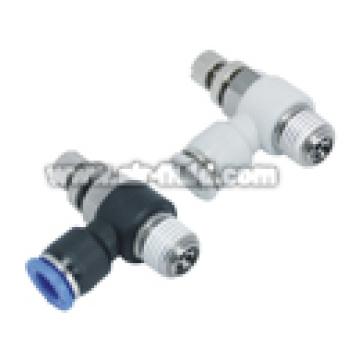 JSC aire-líquido Flow Control Stud codo (BSPT)