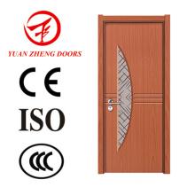 Afrika-heiße Verkaufs-PVC-Tür-Verkleidungs-Holz-Tür-Entwürfe