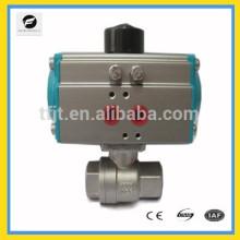 Clapet DN25 à ressort pneumatique AC24V et AC220V pour système d'irrigation, système de refroidissement / chauffage, système de plomberie basse tension