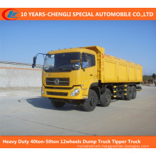 Heavy Duty 40ton-50ton 12wheels Dump Truck Tipper Truck