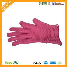 2014 Hot Selling FDA standard résistant à la chaleur Food Grade Barbecue Isolé Food Gloves
