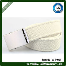 Imprint Logo 100% Cotton Webbing Belts With Different Styles