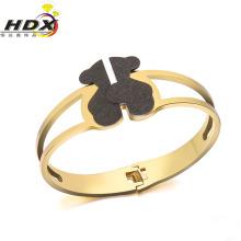 Fashion Jewelry Stainless Steel Bear Bracelet