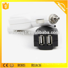 Cargador de batería dual del coche del USB mini / cargador del coche enchufe Q6