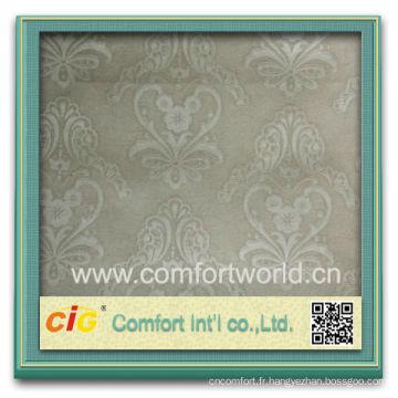 Mode nouveau design joli fabricant de ningbo en gros super doux poly tissu