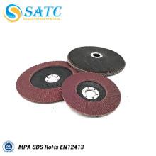Placa de suporte de fibra de vidro portátil para flap disc com boa qualidade