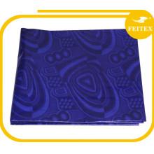 Promotion 100% coton jacquard tissus africain bazin riche en tissu faisant abaya