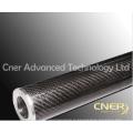 Высококачественный ролик из углеродного волокна, трубка из углеродного волокна с глянцевой тканью 3K