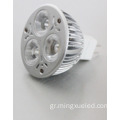 Προβολέας LED 12W DC 3W MR 16LED Spotlight E27 GU10