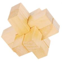 Rompecabezas de madera estilo cruzado, estilo de lujo