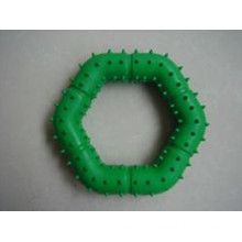 Rubber Barbed Ring Dog Pet Toy