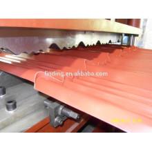 folha de metal portátil Máquina Perfiladeira para telha de telhado de passo feita em china