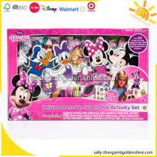 Mickey Mouse Deluxe Dress Up Papier Puppe Aktivität Set