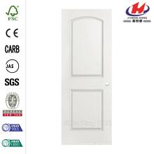 30 pol. X 80 pol. Roman Smooth 2-Panel Round Top Oco núcleo Primed Composto Porta Interior laje com furo