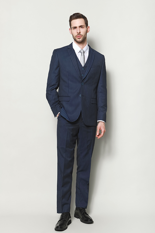 MEN'S YARN DYE STRIPE SUITS JACKET