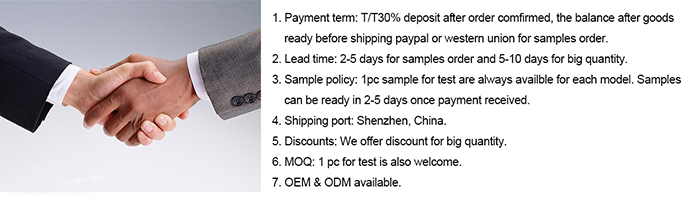 2G11 tube company payment term