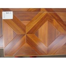 8mm V-Groove E1 AC4 HDF Parquet Laminated Wooden Laminate Wood Flooring