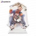 Sunmeta fabricant Cristal photo personnalisé sublimation, cristal vierge de haute qualité
