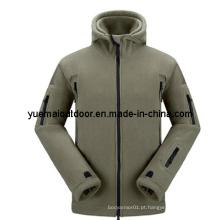 Jaqueta de lã de inverno do exército de alta qualidade