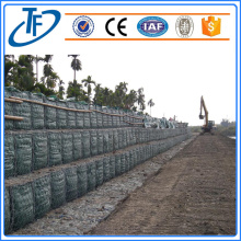 Ecological gabion retaining wall