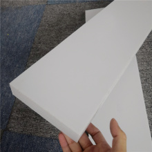 White ABS Block thermoforming plastic parts