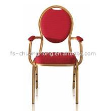 Rolling Back Hotel cadeiras com grossos braços (YC-D101)