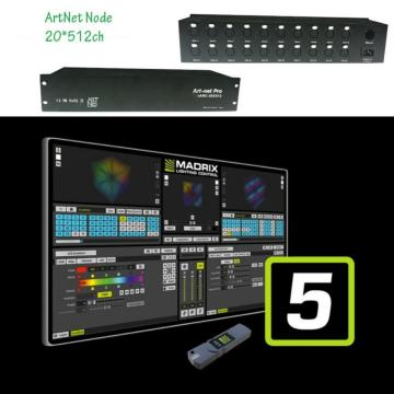 Controlador de nodo Artnet DMX LED Pixel Light