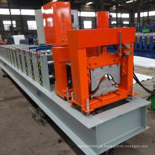 Made in china produção metal casa alumínio aço cume cap rolo formando linha