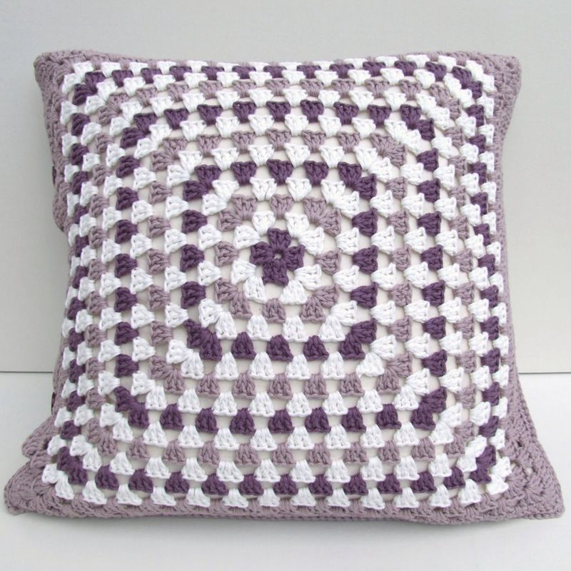 2 1crochet Cushion Cover