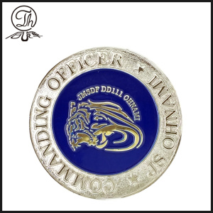 Gold and silver challenge marine coin maker