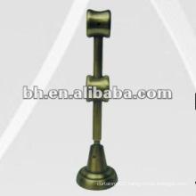 double practical metal curtain rod bracket,pole bracket,iron curtain bracket