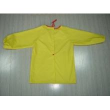 Yj-1151 Veste imperméable Jaune jaune pour les enfants en bas âge Vêtements de pluie