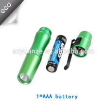 Promotional 1w aluminum alloy led medical pen light,1*AAA battery powered mini medical pen torch