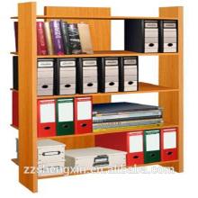 Prateleira de livros de madeira de MDF Quatro camadas para casa ou escritório