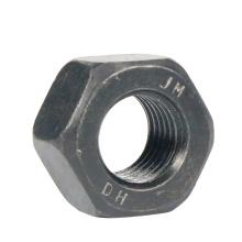 Черная оксидная гайка из горячеоцинкованного углерода размером с шестигранную гайку