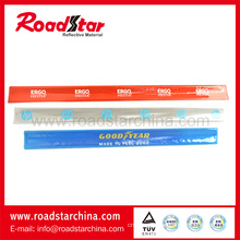 Top quality colorful printed reflective wristbands