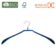 Eisho Especial Design PVC revestido Metal cabide de roupas