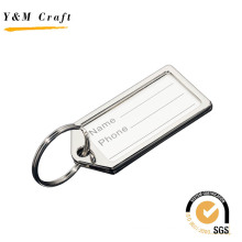 High Quality Zinc Alloy Airline Promotional Metal Name Luggage Tag