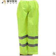 EN471 pantalon 100% polyester réfléchissant