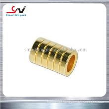 hot sale high coercive cheap price neodymium gold magnet