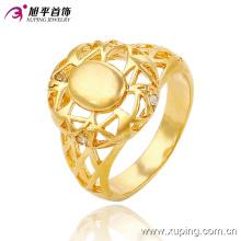 13655 moda cz 24k banhado a ouro mulheres imitação jóias anel de dedo