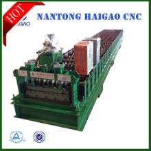 Machine de fabrication de tôle de toit en acier / machine de tôle de toiture métallique