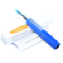 Kit de nettoyage de connecteur d'outil de fibre optique pour un connecteur LC / MU / ST / SC / FC