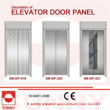 Mirror Stainless Steel Door Panel for Elevator Cabin Decoration (SN-DP-319)