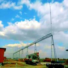 220 kV Door-Shapped Steel Tube Power Transmission Substation Architecture