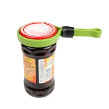 LFGB coloridos de protección del medio ambiente botella de silicona abrelatas