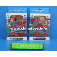 Diecast metal carro de bombeiros carro brinquedos (320807)